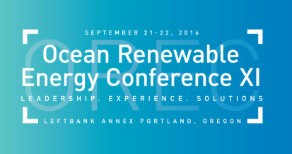 Ocean Renewable Energy Conference XI